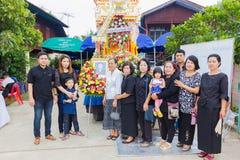 CHIANG RAI, ТАИЛАНД - 19-ОЕ НОЯБРЯ: неопознанное PA тайских людей Стоковое Фото