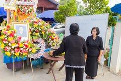 CHIANG RAI, ТАИЛАНД - 19-ОЕ НОЯБРЯ: неопознанное PA тайских людей Стоковая Фотография