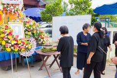 CHIANG RAI, ТАИЛАНД - 19-ОЕ НОЯБРЯ: неопознанное PA тайских людей Стоковые Фото