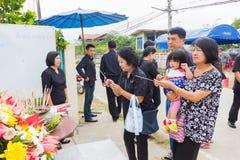 CHIANG RAI, ТАИЛАНД - 19-ОЕ НОЯБРЯ: неопознанное PA тайских людей Стоковое Изображение