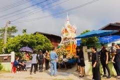 CHIANG RAI, ТАИЛАНД - 19-ОЕ НОЯБРЯ: неопознанное PA тайских людей Стоковые Фотографии RF