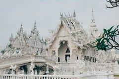 03 04 2017, Chiang Rai, Таиланд; Туристическое место Wat Rong Khun, t Стоковое фото RF
