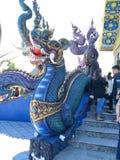 Chiang Rai Beautiful Blue Dragon fotografía de archivo