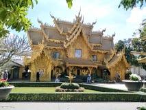 Chiang Rai Beautiful Temple Building imágenes de archivo libres de regalías