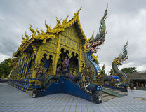 Chiang Rai Blue temple Royalty Free Stock Image