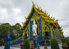 Chiang Rai Blue temple Royalty Free Stock Photography