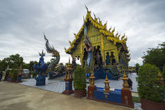 Chiang Rai Blue temple Stock Images