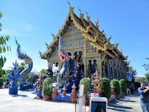 Chiang Rai Blue Temples royalty free stock image