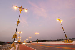 Chiang Rai bro Arkivbild
