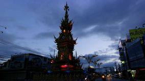 Chiang Rai Clock Tower. Royalty Free Stock Photography