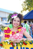 Chiang Rai Flower Festival Photos stock