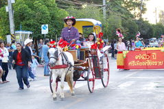 Chiang Rai Flower Festival photographie stock