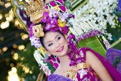 Chiang Rai Flower Festival image libre de droits
