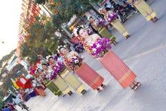 Chiang Rai Flower Festival images libres de droits