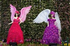Chiang Rai Flower Festival Photographie stock libre de droits