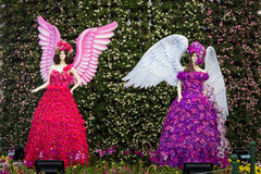 Chiang Rai Flower Festival Royaltyfri Fotografi