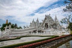 Chiang Rai In Northern Thailand Baimiao Called: Long Kun Temple, Linh Quang Or White Dragon Temple (Wat Rong Khun) Stock Photo