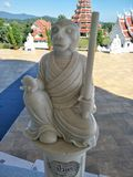 Chiang Rai Monkey Stones stock afbeelding