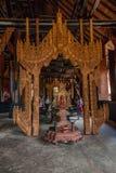 Chiang Rai no museu do norte da casa do preto de Tailândia imagens de stock