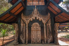 Chiang Rai in northern Thailand Black House Museum Stock Image