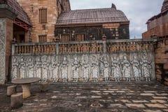 Chiang Rai in northern Thailand town of Hot Springs Inn 'Cambodia Angkor' Spa Hotel Royalty Free Stock Photo