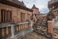Chiang Rai in northern Thailand town of Hot Springs Inn 'Cambodia Angkor' Spa Hotel Stock Images