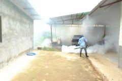 Chiang Rai, Tailandia - 10 de junio de 2018: Repulsivo del mosquito del espray, fotos de archivo libres de regalías
