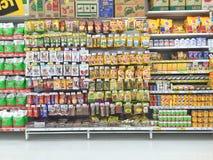 CHIANG RAI, TAILANDIA - 28 OTTOBRE: supermark dell'animale del nn dell'alimento di dof Fotografia Stock
