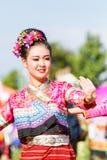 CHIANG RAI, TAILANDIA - 19 SETTEMBRE: bello non identificato voi Immagini Stock Libere da Diritti