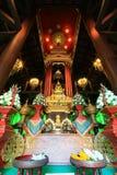 Chiang Rai, Thaïlande en janvier 30,2016 : Phra Yok Chiang Rai ou Chiang Rai Jade Buddha dans la baie d'aubépine Phra Yok, Wat Ph photo libre de droits