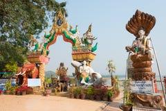 Chiang Rai, Thaïlande - 1er mars 2015 : Triangle d'or un célèbre à Image stock