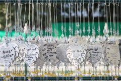CHIANG RAI, THAÏLANDE - 21 JANVIER : La décoration argentée de Pho photos stock