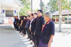 CHIANG RAI, THAÏLANDE - 19 NOVEMBRE : garçon civil thaïlandais non identifié Photo libre de droits