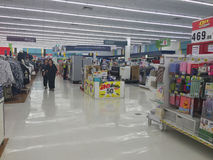 CHIANG RAI, THAÏLANDE - 18 OCTOBRE : inte d'intérieur de supermarché de BigC Image libre de droits