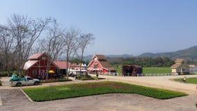 Chiang Rai, Thailand - Februari 08, 2016: De aantrekkelijkheden van het Singhapark, zegen rawd landbouwbedrijf in Chiang Rai Royalty-vrije Stock Afbeelding