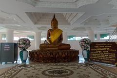 CHIANG RAI, THAILAND - February, 2018 : Wathyuaplakang A place w. Here people worship. And respectable of Buddhist faith February,12, 2018 at Baan hyuaplakang Royalty Free Stock Images