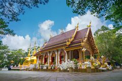 Wat Phrathat Doi Tung Royalty Free Stock Photo