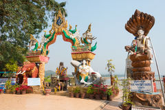 Chiang Rai, Thailand. - Mar 1 2015: Golden Triangle. a famous To Stock Image