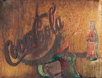 CHIANG RAI, THAILAND - MEI 12: De oude uitstekende muur o van de roestvoorwaarde Stock Foto