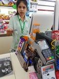 CHIANG RAI, THAILAND - NOVEMBER 25: de niet geïdentificeerde klant woont bij Stock Fotografie