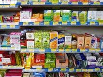 CHIANG RAI, THAILAND - NOVEMBER 25: divers merk van medische pil Stock Foto