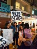 CHIANG RAI THAILAND - NOVEMBER 11: oidentifierad ung kvinna av Royaltyfri Foto