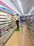 CHIANG RAI, THAILAND - NOVEMBER 6 : unidentified convenience sto Stock Photography
