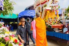 CHIANG RAI, THAILAND - NOVEMBER 19 : unidentified Thai people pa royalty free stock photography
