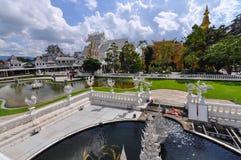 Chiang Rai, Thailand - November 20,2012: Wat Rong Khun Stockbild
