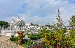 Chiang Rai, Thailand - November 20,2012: Wat Rong Khun Lizenzfreies Stockfoto