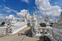 Chiang Rai, Thailand -  November 20,2012 : Wat Rong Khun Royalty Free Stock Photography