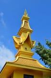 CHIANG RAI, THAILAND - NOVEMBER 21 : Wat Rong Khun buildings and Royalty Free Stock Photos