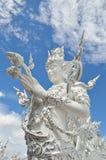 CHIANG RAI, THAILAND - NOVEMBER 21 : Wat Rong Khun buildings and Royalty Free Stock Images