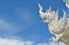 CHIANG RAI, THAILAND - NOVEMBER 21 : Wat Rong Khun buildings and Royalty Free Stock Photo